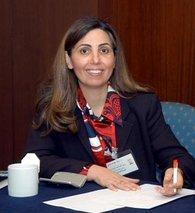 Rola Dashti (photo: Kuwait Economic Society)