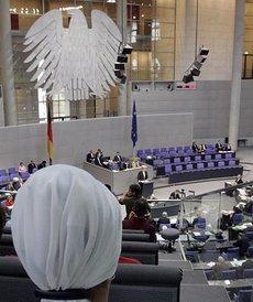 Debate in the German Parliament (photo: AP)