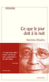 Cover French original edition of 'Ce que le jour doit à la nuit' (source: publisher)