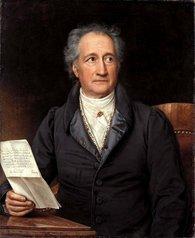 Johann Wolfgang von Goethe in 1828 painting by Joseph Karl Stieler (source: Wikipedia)