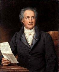 Johann Wolfgang von Goethe in 1828 painting by Joseph Karl Stieler (source: Wikipedia)