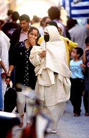 Two women in Morocco (photo: AP)