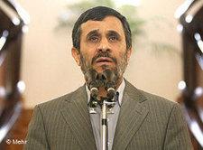 President Ahmadinejad (photo: DW/Mehr)