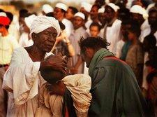 Dhikr ritual in the Sudan (photo: Steve Evans)