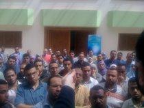 IslamOnline editorial staff protest (photo: mylifethinking.com)