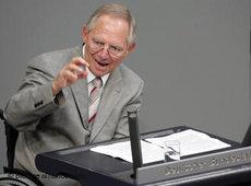 Germany's former Interior Minister Wolfgang Schäuble (photo: picture-alliance/dpa)