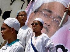 FPI rally in Jakarta (photo: AP)