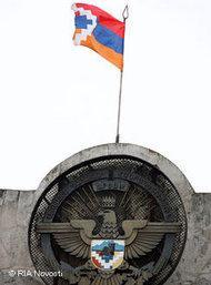 Emblem of Nagorno-Karabakh (photo: Iliya Pitalev/RIA Novosti)