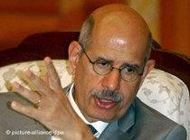 Mohamed ElBaradei (photo: picture-alliance/dpa)