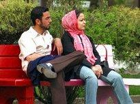 An Iranian young couple in Tehran (photo: Farzaneh Khademian; dpa - Report)