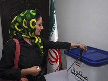 Election day in Iran (photo: AP)