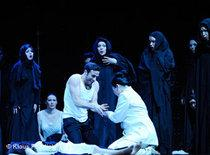 Scene from the opera Neda (photo: Klaus Fröhlich)