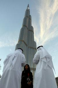 Burg Khalifa in Dubai (photo: AP)
