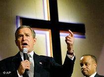 "christianity politics and george bush essay They wrote wistfully: ""the religious right's political capital has subsided  was  george bush's god not the same god who also legitimated hiroshima,  to be  fair, bellah's essay on ""civil religion in america"" does envisage."