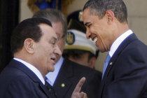 Egyptian President Mubarak and US President Obama (photo: AP)