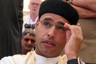 Saif al-Islam Gaddafi (photo: dpa)