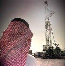 Oil field equipment in Saudi Arabia (photo: dpa)