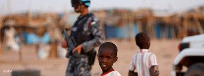 Refugee child in Sudan (photo: AP)