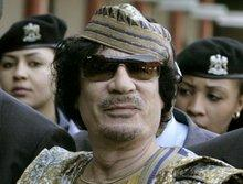 Muammar Gaddafi (photo: AP)
