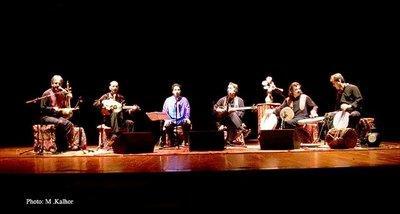 Dastan ensemble (photo: M. Kalhor)