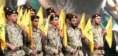 Pictured: Hezbollah paramilitary soldiers (photo: AP)