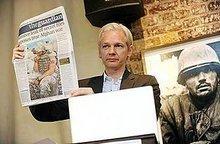 Julian Assange, editor-in-chief of Wikileaks (photo: AP)