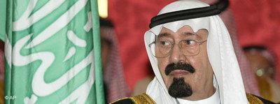 King Abdallah of Saudi Arabia (photo: AP)