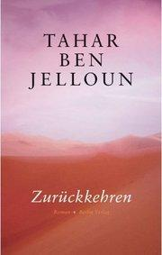 Cover of the German edition of Ben Jelloun's book (source: Berlin Verlag)