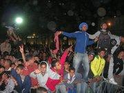 Visitors enjoying the Gnawa Festival in Morocco in 2007 (photo: Daniel Seibert)