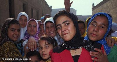 Girls in Cairo (photo: picture-alliance/Godong)