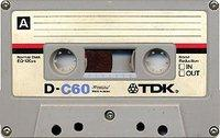 Music cassette (photo: Wikipedia)