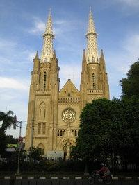 Jakarta Cathedral (photo: Arian Fariborz)