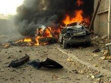 Scene of a terrorattack in Iraq (photo: Wikipedia)