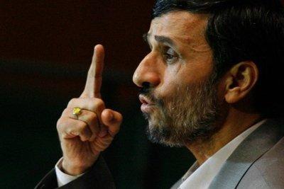 Iranian president Mahmud Ahmedinejad (photo: AP)
