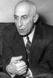 Former Iranian prime minister Mohammed Mossadegh (photo: Wikipedia)