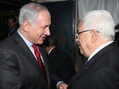 Israeli prime minister Benjamin Netanyahu and Palestinian president Mahmud Abbas (photo: dpa)