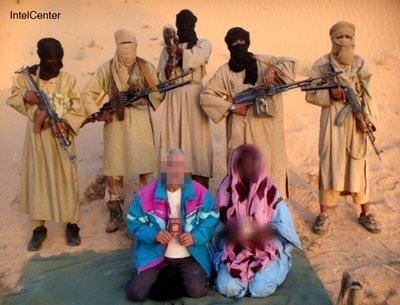 Captured Italian hostages in Mauritania (photo: dpa)