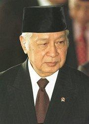 Former Indonesian president Suharto (photo: AP)