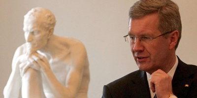 German president Christian Wulff (photo: dpa)