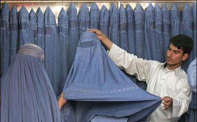 Burka manufactory (photo: AP)