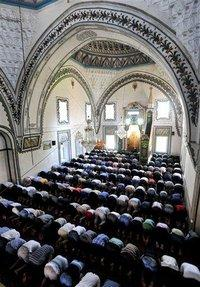 Isa Beg Mosque in Skopje, Macedonia (photo: AP)