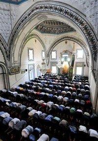 Isa Beg Mosque in Skopje, Macedonia (photo: AP)