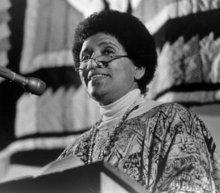 Audre Lorde (photo: www.freedomarchive.org)