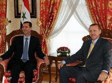 Syria's President Assad and Turkey's Prime Minister Erdogan in Istanbul (photo: AP/Bulent Kilic)