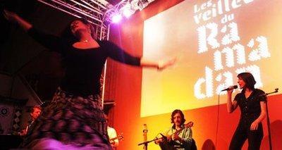 Live concert at the <i>Institut des Cultures d'Islam</i> (photo: www.institut-cultures-islam.org)