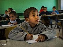 School boy in Palestine (photo: AP)