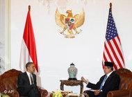 US President Obama and Indonesian President Yudhoyono (photo: AP)