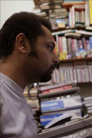 The Egyptian blogger Wael Abbas (photo: IJCF)