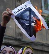 Anti-Mubarak protests (photo: AP)