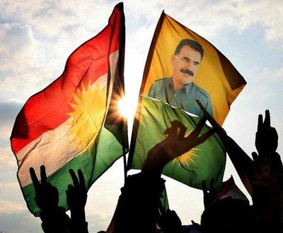 Demonstration of PKK sympathisers (photo: dpa)